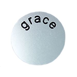 Picture of 'Grace' Medium Silver Coin